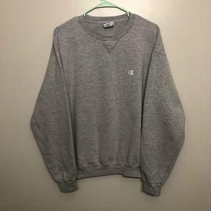 Champion pullover sweatshirt gray